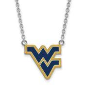 WVU Sterling Silver Pendant