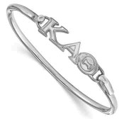 KAT Sterling Silver Bangle