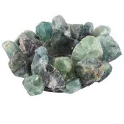 Green Fluorite Crystal Garden Candle Holder