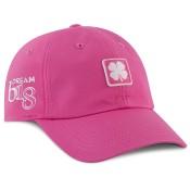 Black Clover '18 Lucky For U #4 Pink/White Adjustable Hat