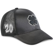 Black Clover '20 Jaybird #6 Black/Silver Adjustable Hat