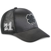 Black Clover '21 Jaybird #6 Black/Silver Adjustable Hat