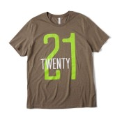 Bella + Canvas Throwback Jersey '21 Vintage T Shirt