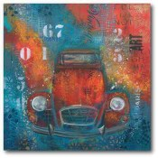 Red Abstract Beetle 16