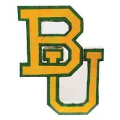 Baylor Collegiate Metal Sign