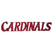 Louisville Cardinals Collegiate Metal Sign
