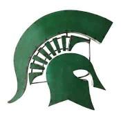 Michigan State Spartan Collegiate Metal Sign