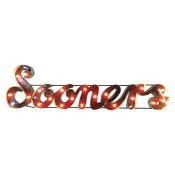 Oklahoma Sooners Collegiate Metal Sign with Lights