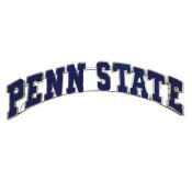 Penn State Collegiate Metal Sign