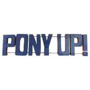 SMU Pony Up Collegiate Metal Sign