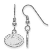 Penn State Nittany Lions Sterling Silver Dangle Earrings