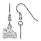 Baylor Bears Sterling Silver Dangle Earrings