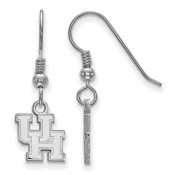 Houston Cougars Sterling Silver Dangle Earrings