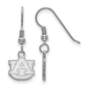 Auburn Tigers Sterling Silver Dangle Earrings