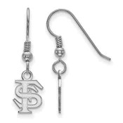 FSU Seminoles Sterling Silver Dangle Earrings