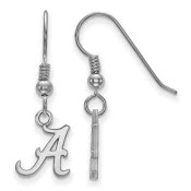 Alabama Crimson Tide Sterling Silver Dangle Earrings
