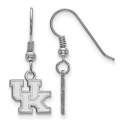 Kentucky Wildcats Sterling Silver Dangle Earrings