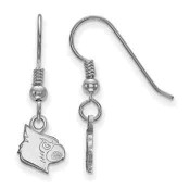 Louisville Cardinals Sterling Silver Dangle Earrings