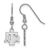Texas A&M Aggies Sterling Silver Dangle Earrings