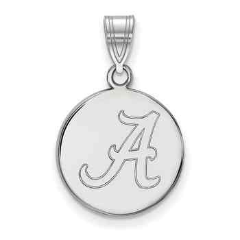 Alabama sterling silver disc pendant jewelry new products alabama sterling silver disc pendant mozeypictures Images