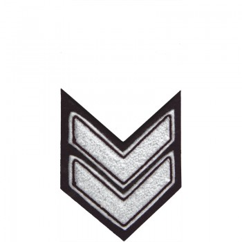 Chevron 2 Shapes And Symbols All Patches Letterman