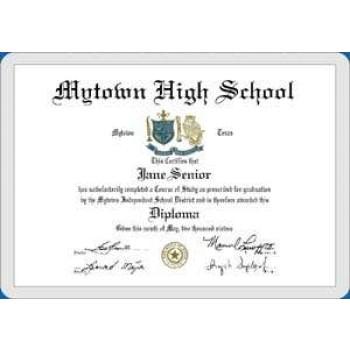 credit card mini diploma