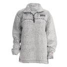 Frost Grey Sherpa 1/4 Zip Pullover