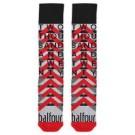 Two Thousand And Twenty-Red/Grey Socks