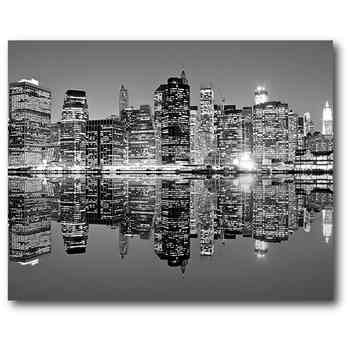 Black x 20 canvas wall art