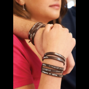 2014 Leather Wrap Bracelet