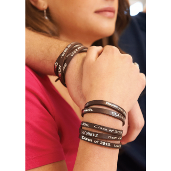 2015 Leather Wrap Bracelet
