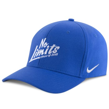 blue nike cap