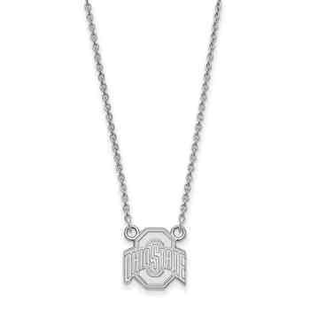 Ohio state sterling silver necklace new products ohio state sterling silver necklace aloadofball Gallery